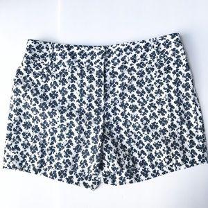 LOFT • Navy Eyelet Shorts NWT